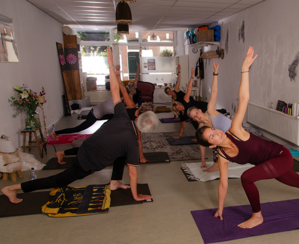 Dynamische yoga Isabella van der Meulen - Yoga & Pilates Studio Oisterwijk
